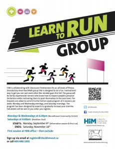 HIM Learn to Run Group Poster