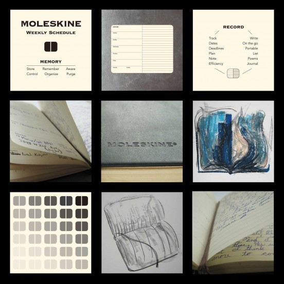 Evocative Objects Moleskine
