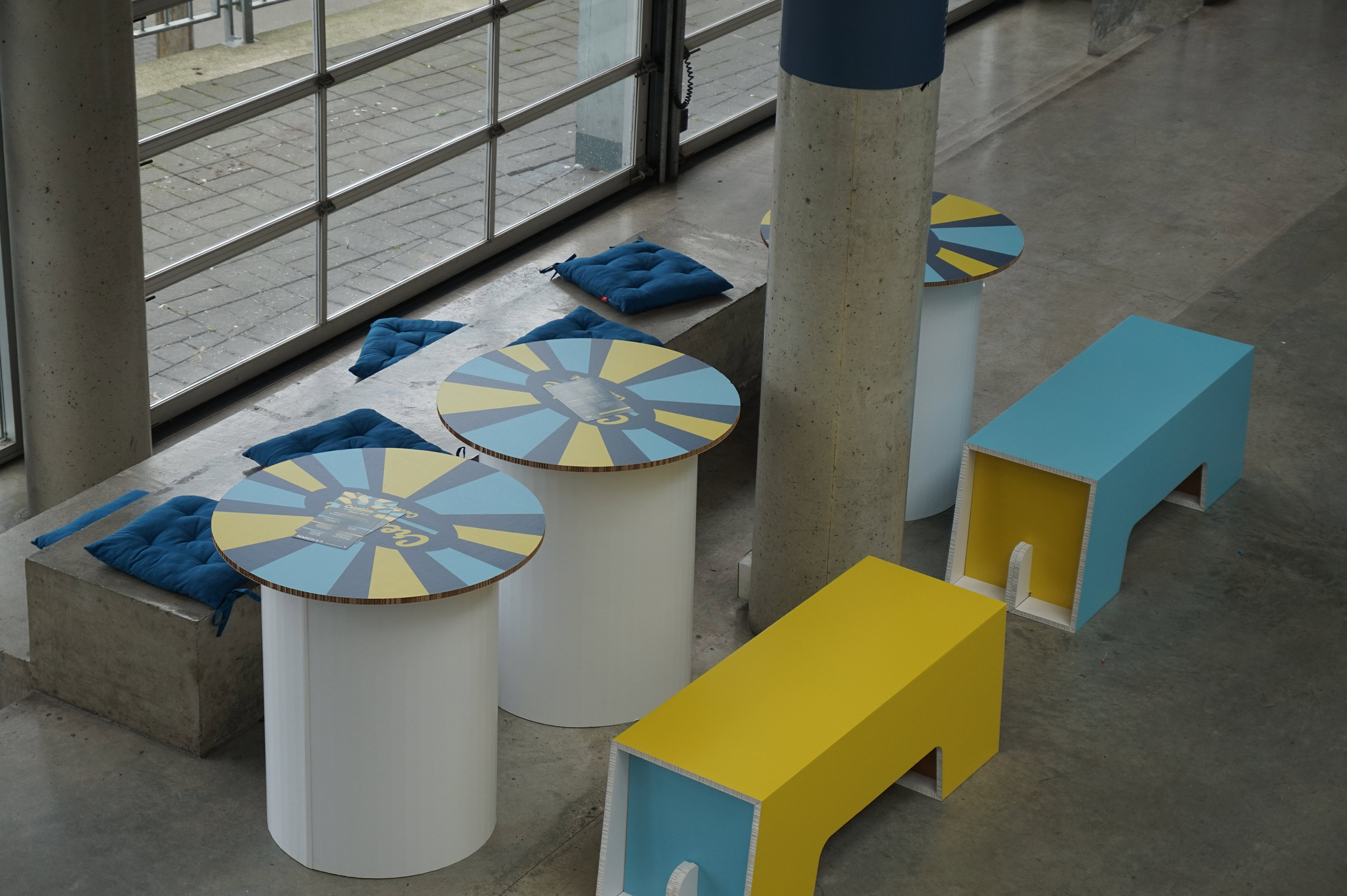 Custom Printed Tables and Benches